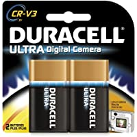 Duracell Ultra Digital Camera Battery Cr-V3 Batteries 2 Count (Pack Of 2)