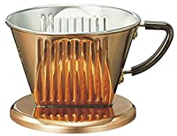 Copper Coffee Dripper (Kalita) for 2-4 Cups by Kalita (Carita)