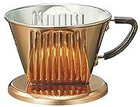 Copper Coffee Dripper (Kalita) for 2-4 Cups by Kalita (Carita)