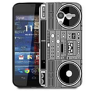 Snoogg Casette Tape Designer Protective Phone Back Case Cover For Moto X / Motorola X
