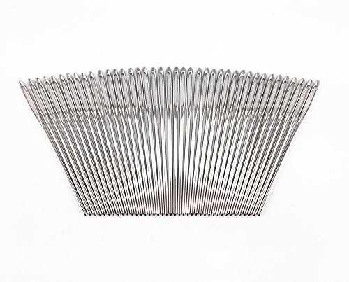 yueton-40pcs-27-inch-metal-large-eye-blunt-needles-yarn-needles-for-knitting-crochet-projects-silver