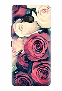 Designer Printed Mobile Back Cover & Case For Microsoft Lumia 550 - By Noise