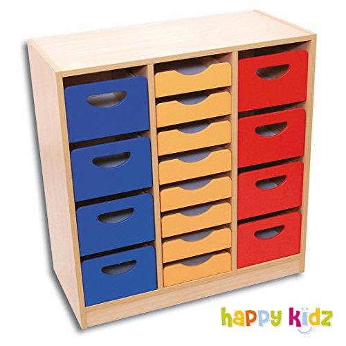 Schrank mit 8 Schubladen und Containern günstig bestellen