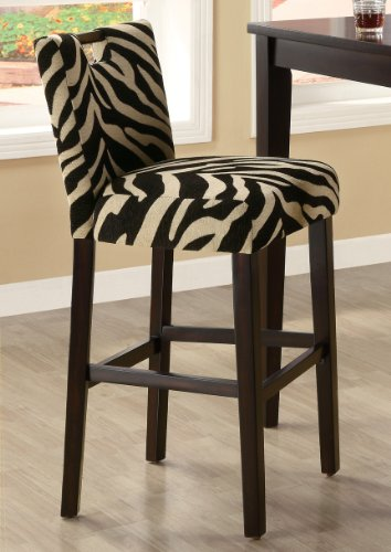 29 Bar Stool in Zebra by Coaster