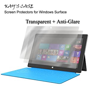 KaysCase Screen Protector for Microsoft Surface Tablet 2 Pack (Clear)