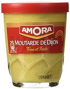 Amora Moutarde de Dijon Fine et Forte - Fine French Strong Dijon Mustard 5.3 oz.