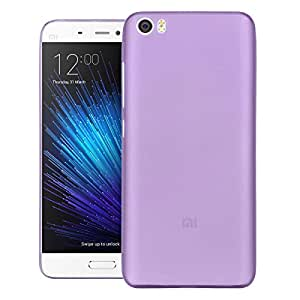 FalconTM Xiaomi Mi5 Case, Slimline Series Cover Ultra Slim Fit Premium Protection Back Cover For Xiaomi Mi5 (Purple)