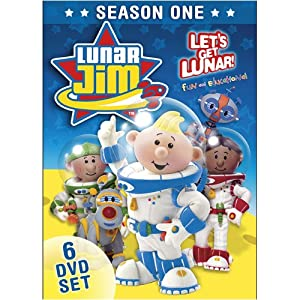 Lunar Jim: Season One 6-DVD Set movie