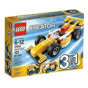 2 X LEGO Creator 31002: Super Racer