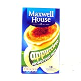 Maxwell House Cappuccino Unsweetened 10 158g
