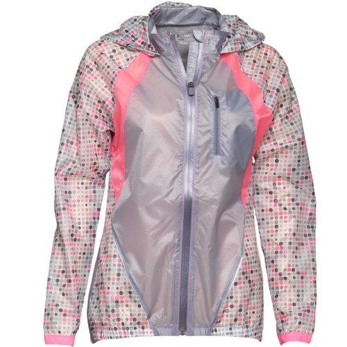 Under Armour Womens Heat Gear Fly-By Lightweight Running Jacket White