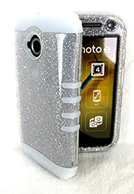 Motorola Moto E 2nd Gen 4G LTE Cover Case Glitter Clear & Glow Shock Resistant from Phone Art