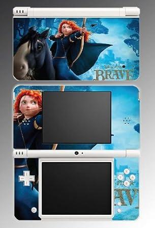 Brave Princess Merida Archer Video Game Vinyl Decal Cover Skin Protector #3 Nintendo DSi XL