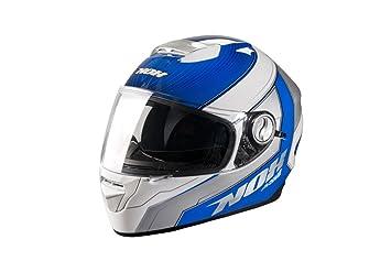 NOX NOXN301PRIBLL Casque Intégral N301 Prime  Bleu L