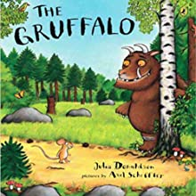 The Gruffalo (       UNABRIDGED) by Julia Donaldson Narrated by Hal Hollings