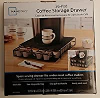 Mainstays 36-Pod Coffee Storage Drawer
