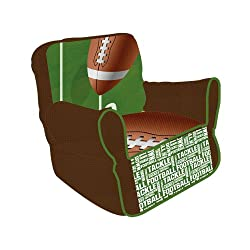 Newco Kids Football 50 yard Line Bean Chair