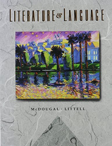 literature-and-language-the-mcdougal-littell-english-program-by-arthur-n-applebee-1992-09-02