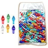 Assorted Color Ornaments For Ceramic Christmas Trees and Other Crafts-432 Pcs.