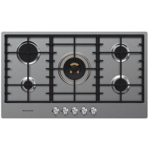 KitchenAid-Table-de-Cuisson-Gaz-KHSP5-86510-Inox-90cm