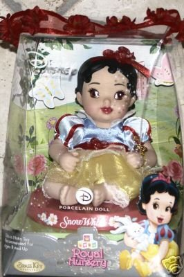 Disney Princess Brass Key Royal Nursery Snow White Porcelain Doll - Buy Disney Princess Brass Key Royal Nursery Snow White Porcelain Doll - Purchase Disney Princess Brass Key Royal Nursery Snow White Porcelain Doll (Brass Key, Toys & Games,Categories,Dolls,Porcelain Dolls)