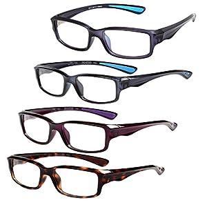 liansan anti blue computer reading glasses for