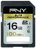 PNY SDHC Elite Performance Speicherkarte 16GB Class 10 UHS-1 U3