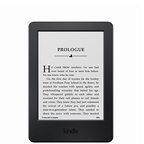 "Kindle, 6"" Glare-Free Touchscreen Display, Wi-Fi at Electronic-Readers.com"