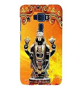 Lord Venkateshwara 3D Hard Polycarbonate Designer Back Case Cover for Asus Zenfone 3 Deluxe ZS570KL