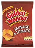 Golden Wonder Sausage & Tomato Crisps 37.5g x 32