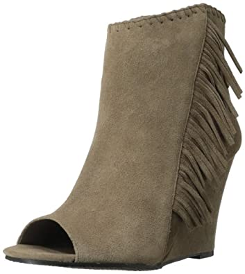 Vince Camuto Women's Tecca Western Boot,Smoke Taupe,9 M US
