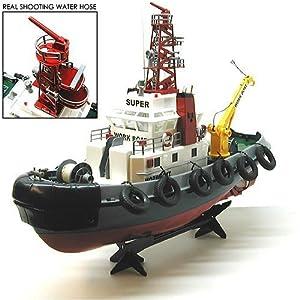 "23"" Atlantic Harbor RC Tugboat: Collectible Tugboat"