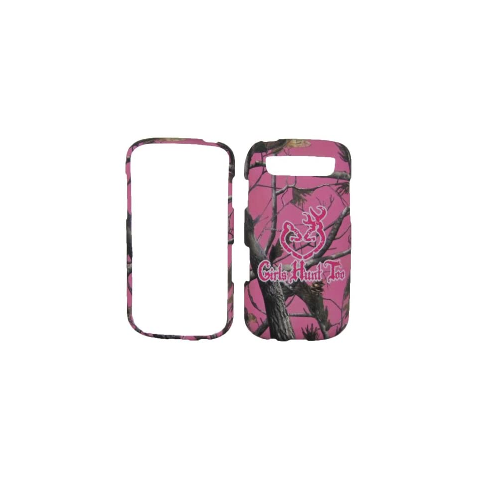 Pink Camo Tree Girls Hunt Too Hunting Samsung Galaxy S Blaze 4g Sgh t769 (T mobile) Snap on Hard Case Shell Cover Protector Faceplate Rubberized Wireless Cell Phone Accessory