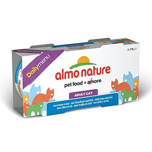 2x170g Almo Nature Daily Menu Tonno e Riso - Multipack 1 confezione 2 scatole