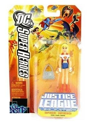 Picture of Mattel Justice League Unlimited Supergirl Figure - 1st Release Orange Card DC Super Heroes (B001R93T0Q) (Mattel Action Figures)
