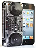 CASEiLIKE® - Retro Vintage Boombox - Snap-on hard case back cover for Apple 5G Touch / iPod Touch 5th Generation - 32GB 64GB - with SCREEN PROTECTOR 1pcs.