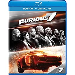 Furious 7 - Extended Edition [Blu-ray]