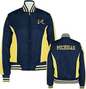 Buy Michigan Wolverines GIII Ladies Reversible Full Zip Jacket by G-III Sports