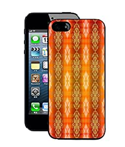 Fuson 2D Printed Colour Pattern Wallpaper Designer Back Case Cover for Apple iPhone 5 - D868