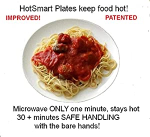 HotSmart Hot Gourmet Plates - InstaHot 30 minute Plus (Patented)