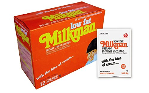 Milkman Low Fat Instant Dry Powdered Milk - 12 Quarts (41.28 Oz) (Dehydrated Coffee compare prices)