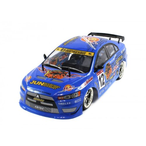 Electric Full Function 1:10 CT Speed Racing Mitsubishi Lancer 10+MPH RTR RC Car (Colors May Vary)