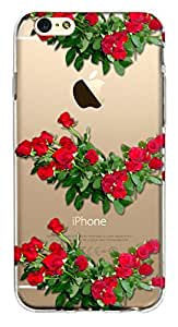 WOW Crystal clear Transparent Printed Back Cover Case For Apple iphone 6s Plus