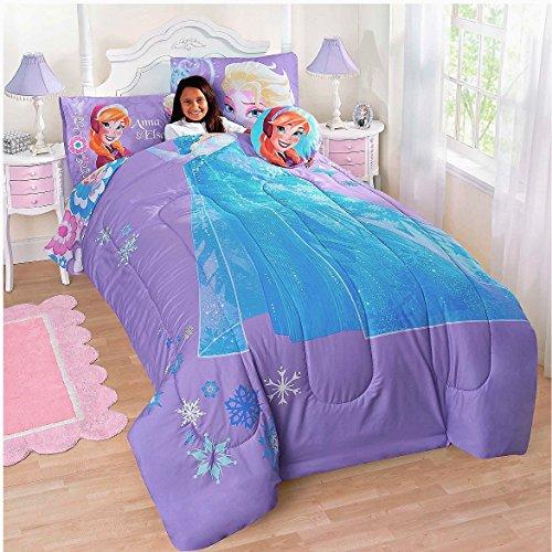 Disney Frozen Me Full Comforter Sham Sheet Set