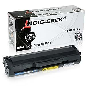 Logic-Seek Toner für Samsung ML1660, 1500 Seiten, Schwarz