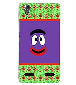 PrintDhaba Cartoon D-5783 Back Case Cover for LENOVO A6000 PLUS (Multi-Coloured)