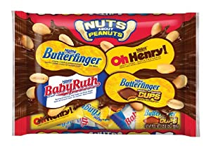 Nestle Nuts About Peanuts Gift Bag, 20 Ounce (Pack of 12)