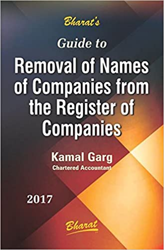 Guide to Removal of Names of Companies from the Register of Companies