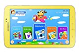 Samsung Galaxy Tab 3 17,7 cm (7 Zoll) Kids Tablet (Marvell PXA 986 (ARM basierend), 1GB RAM, 3,2 Megapixel Kamera, WiFi, Android 4.1) greenish-yellow