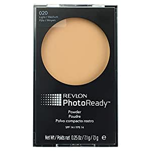 Revlon Photoready Pressed Powder Compact, Light/medium #20/0.25 Oz